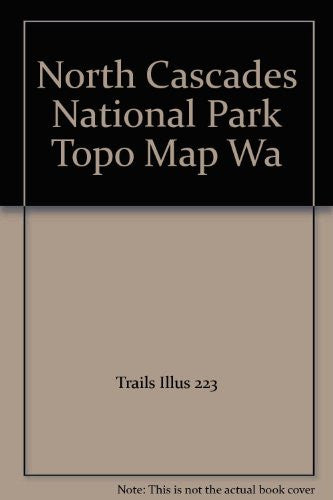 North Cascades National Park Topo Map Wa