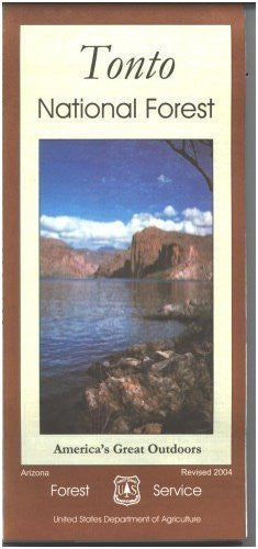 us topo - Tonto National Forest Map - Paper - Wide World Maps & MORE! - Book - U.S. Forest Service - Wide World Maps & MORE!