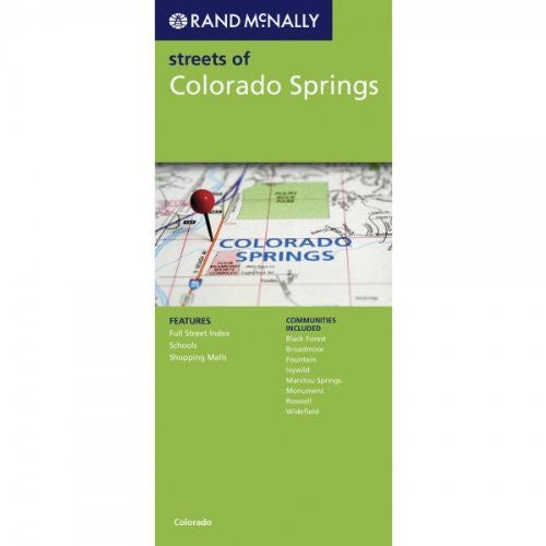 Rand McNally Folded Map: Colorado Springs (Rand McNally Colorado Springs Street Guide: Including Pueblo)