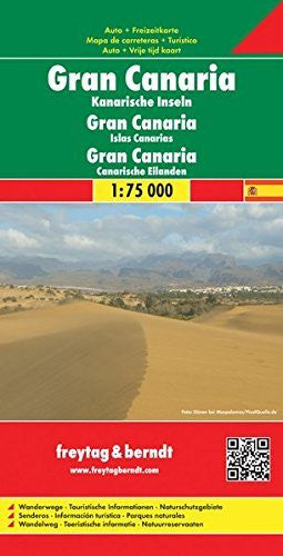 Gran Canaria (English and German Edition) - Wide World Maps & MORE! - Book - Freytag & Berndt - Wide World Maps & MORE!