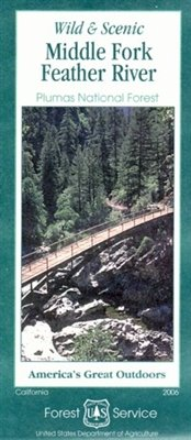 Wild & Scenic Middle Fork of the Feather River Map - Wide World Maps & MORE! - Book - Wide World Maps & MORE! - Wide World Maps & MORE!
