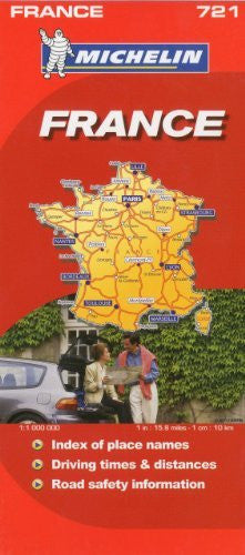 Michelin Map France 721 (Maps/Country (Michelin))