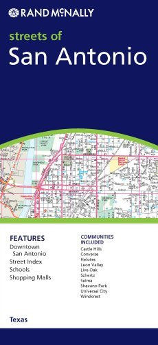us topo - Streets of San Antonio (Rand McNally Streets Of...) - Wide World Maps & MORE! - Book - Brand: Rand McNally Company - Wide World Maps & MORE!