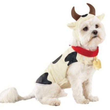 Dog Cow Costume Size: X-Large - Wide World Maps & MORE! - Pet Products - Wide World Maps & MORE! - Wide World Maps & MORE!