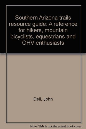 us topo - Southern Arizona trails resource guide: A reference for hikers, mountain bicyclists, equestrians and OHV enthusiasts - Wide World Maps & MORE! - Book - Brand: Pima Trails Association - Wide World Maps & MORE!