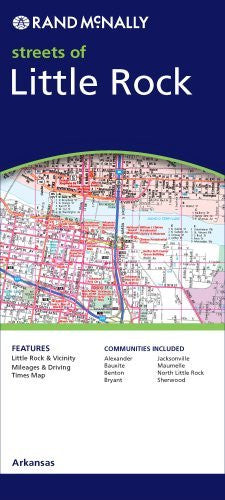 us topo - Rand McNally Streets of Little Rock, Arkansas - Wide World Maps & MORE! - Book - Rand McNally - Wide World Maps & MORE!