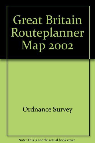 Great Britain Routeplanner Map (Routeplanner) - Wide World Maps & MORE! - Book - Wide World Maps & MORE! - Wide World Maps & MORE!