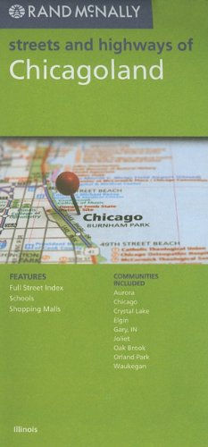 Rand Mcnally Chicagoland - Wide World Maps & MORE! - Book - Wide World Maps & MORE! - Wide World Maps & MORE!