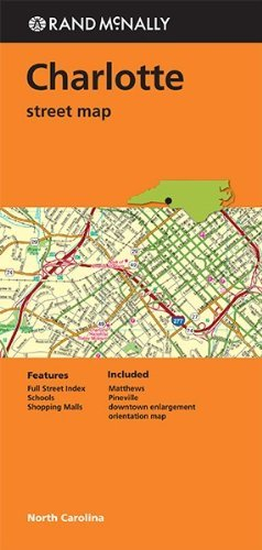 Rand Mcnally Folded Map: Charlotte Street Map - Wide World Maps & MORE! - Book - Rand McNally - Wide World Maps & MORE!