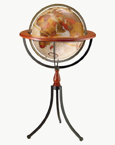 Replogle Globes Santa Fe Globe, Bronze Metallic Finish, 16-Inch Diameter