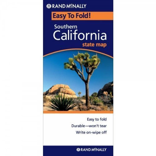 us topo - By Rand McNally Rand McNally Southern California Easy to Fold (Laminated) (Rand McNally Easyfinder) (Map) [Map] - Wide World Maps & MORE! - Book - Wide World Maps & MORE! - Wide World Maps & MORE!