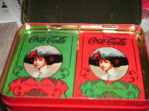 us topo - Coca Cola 2 Decks of Playing Cards in Original Box - Never Unwrapped - Wide World Maps & MORE! - Sports - Coca Cola Playing Cards - Wide World Maps & MORE!