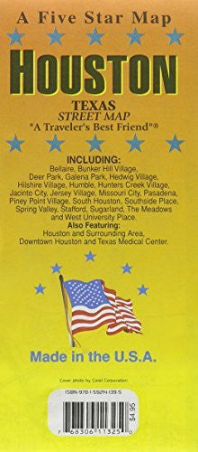 us topo - Houston, TX - Wide World Maps & MORE! - Book - Five Star - Wide World Maps & MORE!