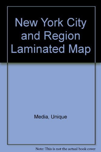 New York City and Region Laminated Map - Wide World Maps & MORE! - Book - Wide World Maps & MORE! - Wide World Maps & MORE!