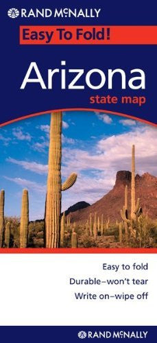 us topo - Rand Mcnally EasyFinder Arizona (Map) - Wide World Maps & MORE! - Book - Not Available (NA) - Wide World Maps & MORE!