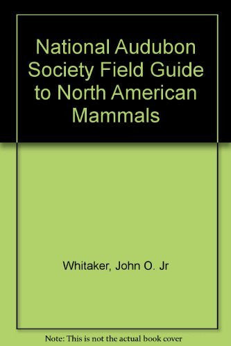 us topo - National Audubon Society Field Guide to North American Mammals - Wide World Maps & MORE! - Book - Wide World Maps & MORE! - Wide World Maps & MORE!