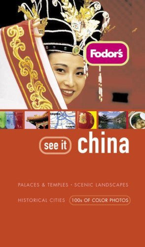 us topo - Fodor's See It China, 1st Edition - Wide World Maps & MORE! - Book - Brand: Fodor's - Wide World Maps & MORE!