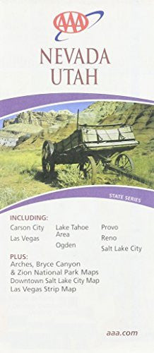 Nevada, Utah - Wide World Maps & MORE! - Book - Wide World Maps & MORE! - Wide World Maps & MORE!