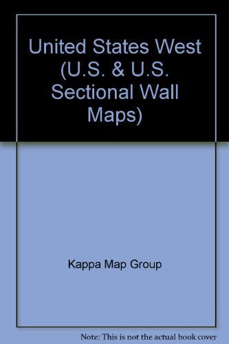 United States West (U.S. & U.S. Sectional Wall Maps)