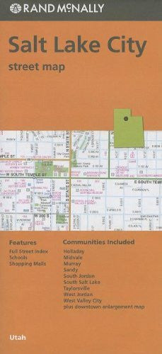 Rand McNally Folded Map: Salt Lake City