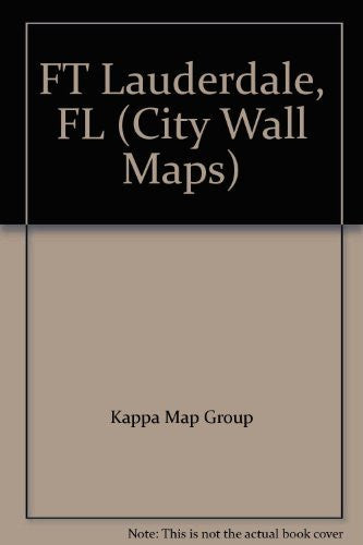 us topo - FT Lauderdale, FL (City Wall Maps) - Wide World Maps & MORE! - Book - Wide World Maps & MORE! - Wide World Maps & MORE!