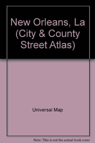 us topo - New Orleans, La (City & County Street Atlas) - Wide World Maps & MORE! - Book - Wide World Maps & MORE! - Wide World Maps & MORE!