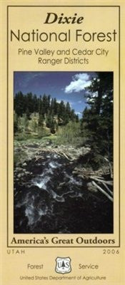 us topo - Pine Valley Mountain recreation trail map : Dixie National Forest--Pine Valley ranger district (SuDoc A 13.28:D 64/9) - Wide World Maps & MORE! - Book - Wide World Maps & MORE! - Wide World Maps & MORE!