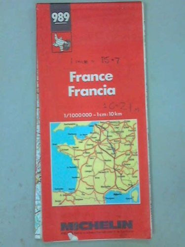 us topo - France Francia 989 - Wide World Maps & MORE! - Book - Wide World Maps & MORE! - Wide World Maps & MORE!