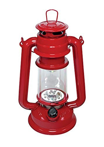 us topo - SE FL805-15R 15-LED Red Hurricane Lantern with Dimmer Switch - Wide World Maps & MORE! - Home Improvement - SE - Wide World Maps & MORE!