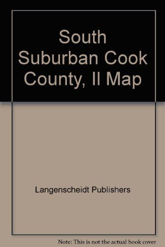 South Suburban Cook County, Il Map