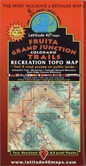 Fruita/ Grand Junction Mountain Bike Trail Map - Wide World Maps & MORE! - Book - Wide World Maps & MORE! - Wide World Maps & MORE!