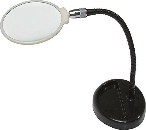 Glass Hands Free Table Flexible Stand Up Magnifier