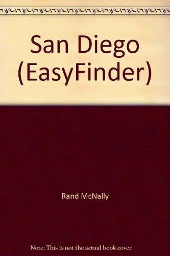 Rand McNally San Diego Easyfinder Map