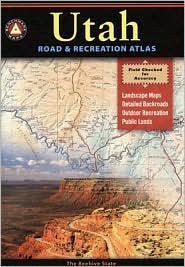 Benchmark Utah Road & Recreation Atlas 4th (fourth) edition Text Only