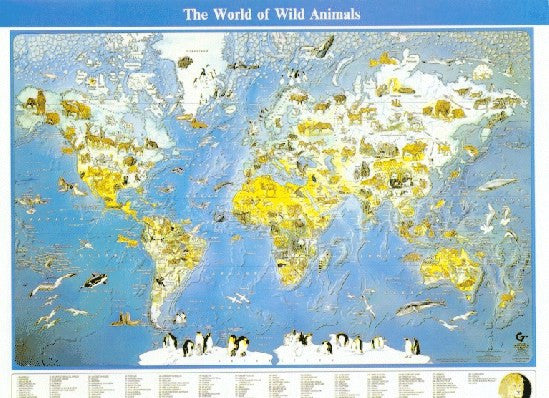 World of Wild Animals Map: 101250