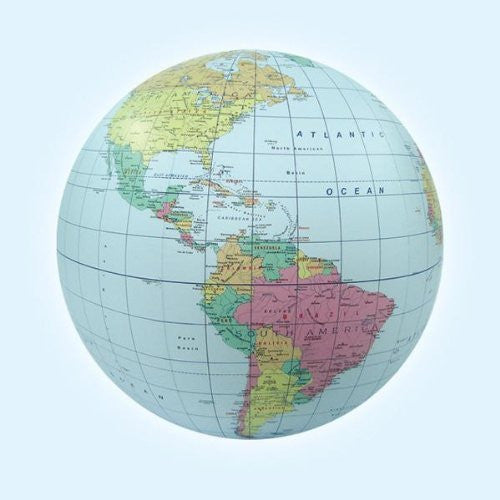 us topo - Inflatable Political Globe - Wide World Maps & MORE! - Toy - Jet Creations - Wide World Maps & MORE!