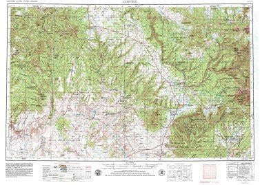 us topo - Cortez, CO - Wide World Maps & MORE! - Book - Wide World Maps & MORE! - Wide World Maps & MORE!