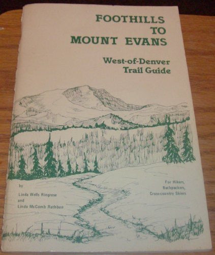 us topo - Foothills to Mount Evans: A trail guide - Wide World Maps & MORE! - Book - Wide World Maps & MORE! - Wide World Maps & MORE!