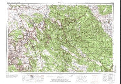us topo - Moab, UT;CO - Wide World Maps & MORE! - Book - Wide World Maps & MORE! - Wide World Maps & MORE!