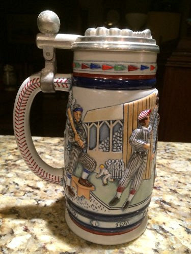 "1984 ""Great Amarican Baseball"" Avon Collectible Ceramic Stein"