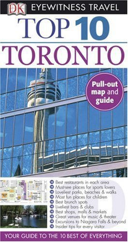us topo - Top 10 Toronto (Eyewitness Top 10 Travel Guides) - Wide World Maps & MORE! - Book - Wide World Maps & MORE! - Wide World Maps & MORE!