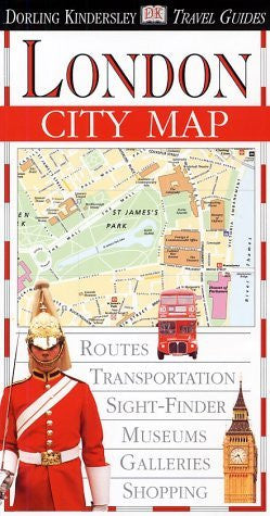 Eyewitness Travel City Map to London