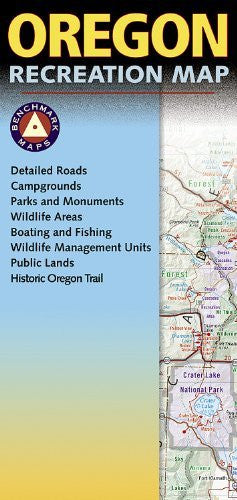 Oregon Recreation Map (Benchmark Maps)