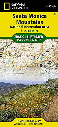 us topo - Santa Monica Mountains National Recreation Area (National Geographic Trails Illustrated Map) - Wide World Maps & MORE! - Book - National Geographic Maps - Wide World Maps & MORE!