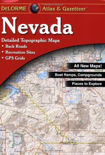 Nevada Atlas & Gazetteer by Delorme (2015-06-15) - Wide World Maps & MORE! - Book - Wide World Maps & MORE! - Wide World Maps & MORE!