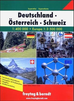 Germany - Austria - Switzerland Superatlas