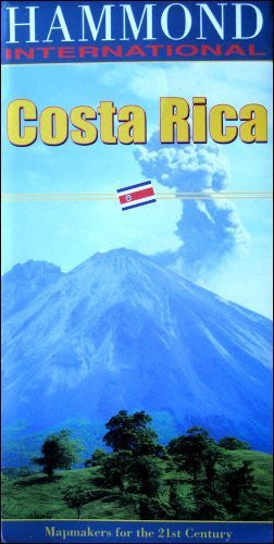 Costa Rica - Wide World Maps & MORE! - Book - Brand: Hammond World Atlas Corporation - Wide World Maps & MORE!