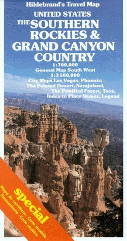 us topo - Southern Rockies and Grand Canyon Country Map (USA & Canada) - Wide World Maps & MORE! - Book - Wide World Maps & MORE! - Wide World Maps & MORE!