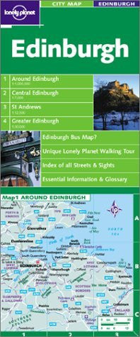 Lonely Planet Edinburgh (Lonely Planet City Maps)