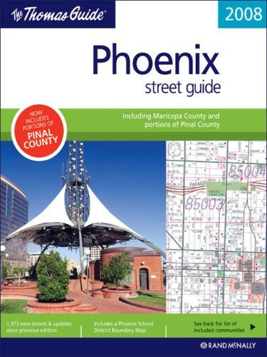 The Thomas Guide Phoenix Street Guide (Thomas Guide Phoenix Metropolitan Area Street Guide & Directory) - Wide World Maps & MORE! - Book - Wide World Maps & MORE! - Wide World Maps & MORE!